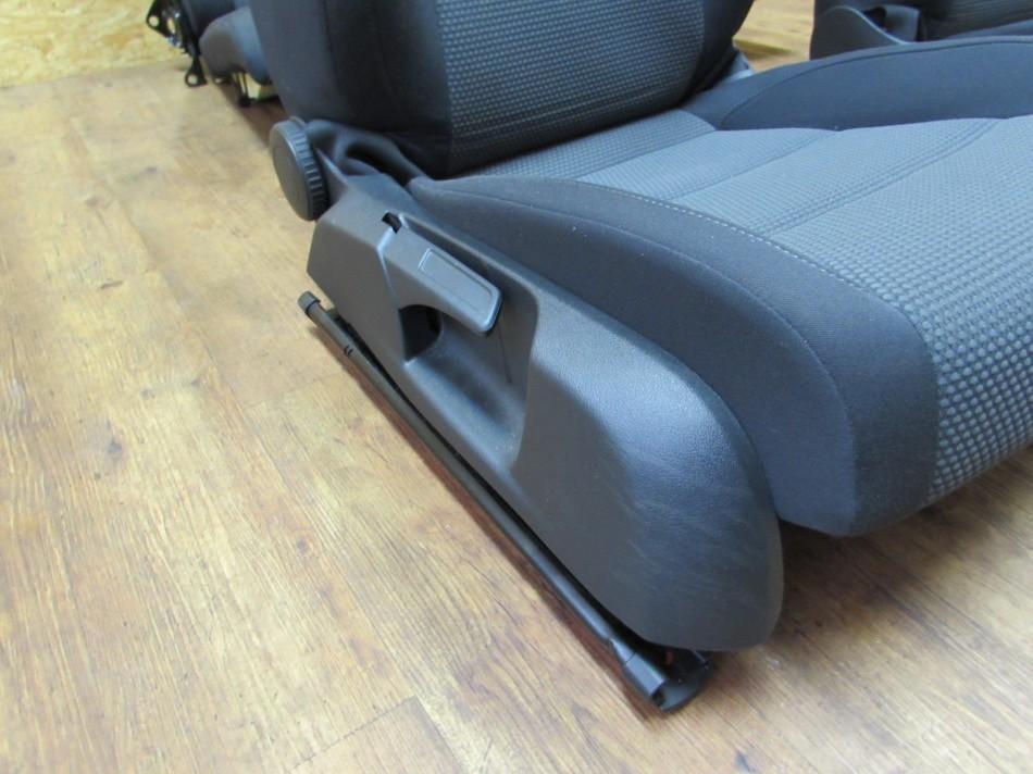 innenausstattung schwarz sitze fahrersitz vw golf 6 vi cabrio evtl caddy ebay. Black Bedroom Furniture Sets. Home Design Ideas