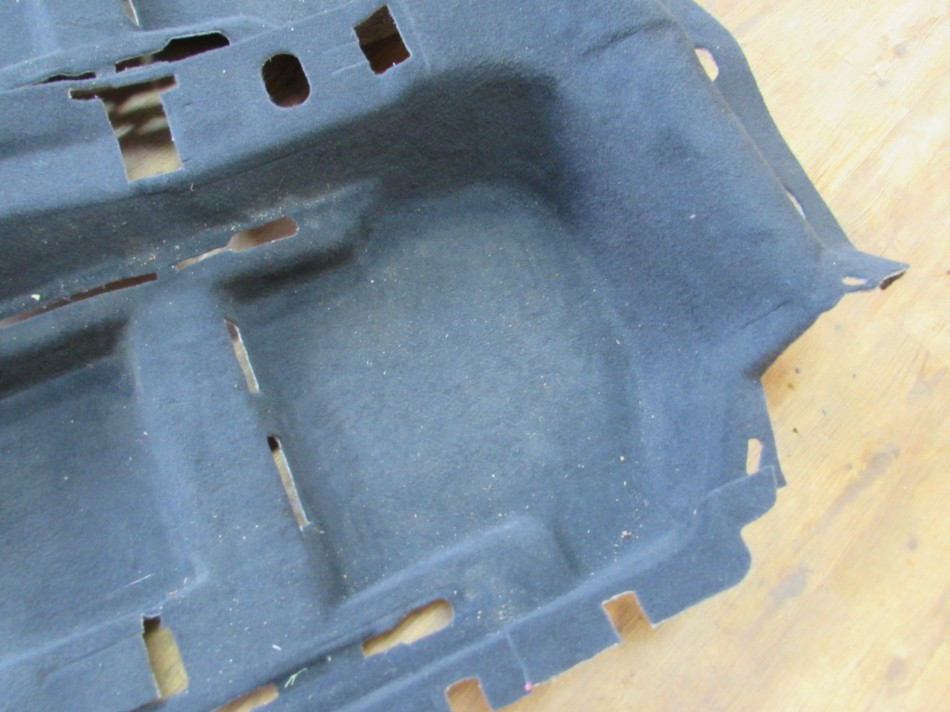 1Q1898367N Innenteppich Teppich Bodenbelag schwarz VW EOS