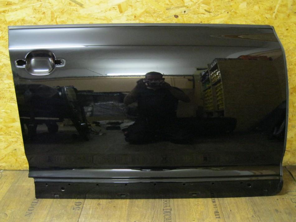 vw touareg 7l t r t rblech t rblatt vorne rechts schwarz l041 ebay. Black Bedroom Furniture Sets. Home Design Ideas