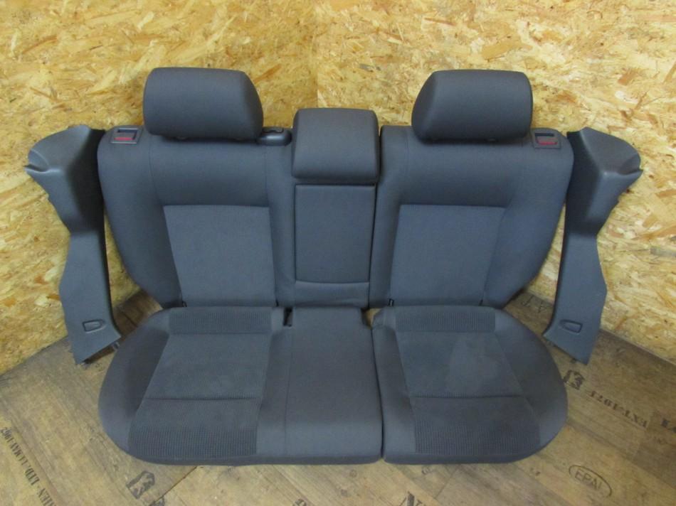 r ckbank r cksitzbank sitzbank hinten vw polo 9n 9n2 4 t rer innenraum sitze stoff. Black Bedroom Furniture Sets. Home Design Ideas